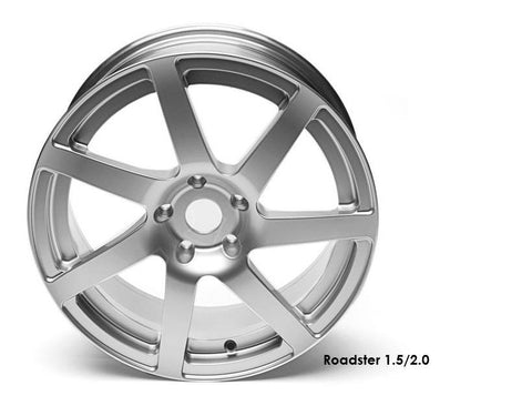Silver Forged Wheel Set