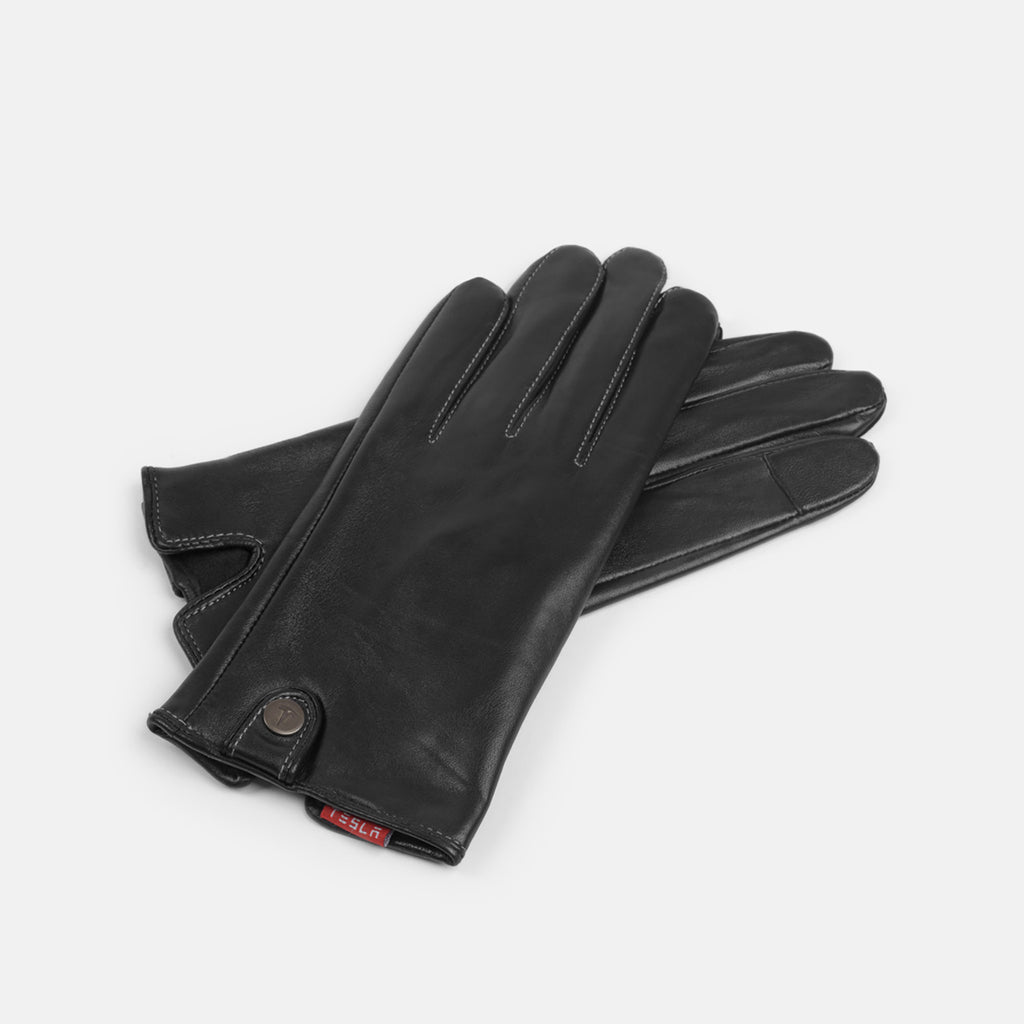 Women's Touch Screen Leather Driving Gloves