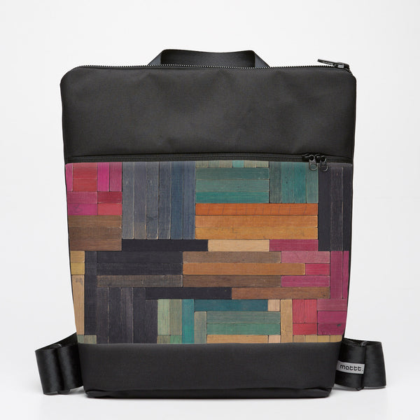 Oversize Backpack with Cuisenaire - Flat