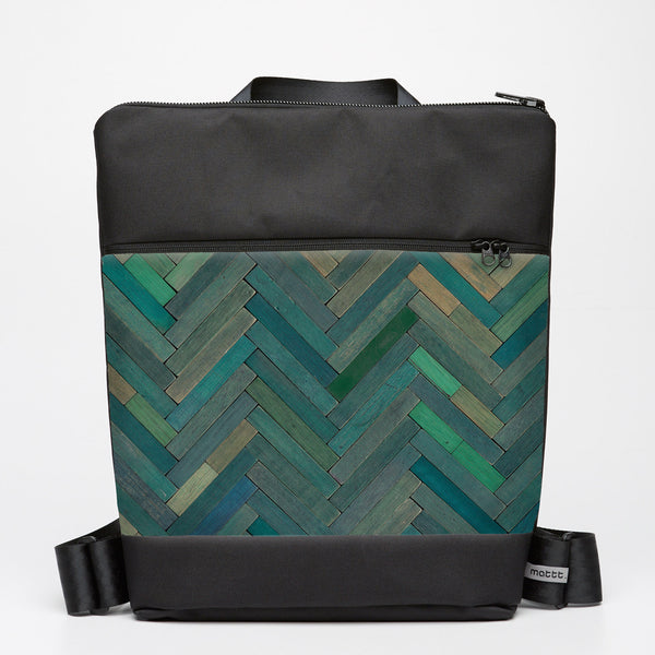 Oversize Backpack with Cuisenaire - Green