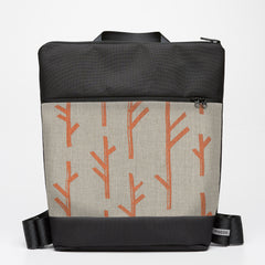 Oversize Backpack with Twig - Copper