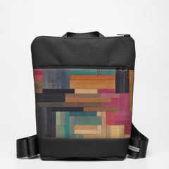 Zipper Backpack with Cuisenaire - Flat