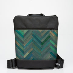 Zipper Backpack with Cuisenaire - Green