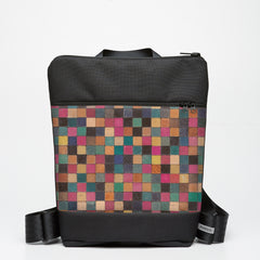 Zipper Backpack with Cuisenaire - Square