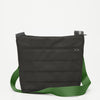 Travel Shoulder Bag with Black Armadillo