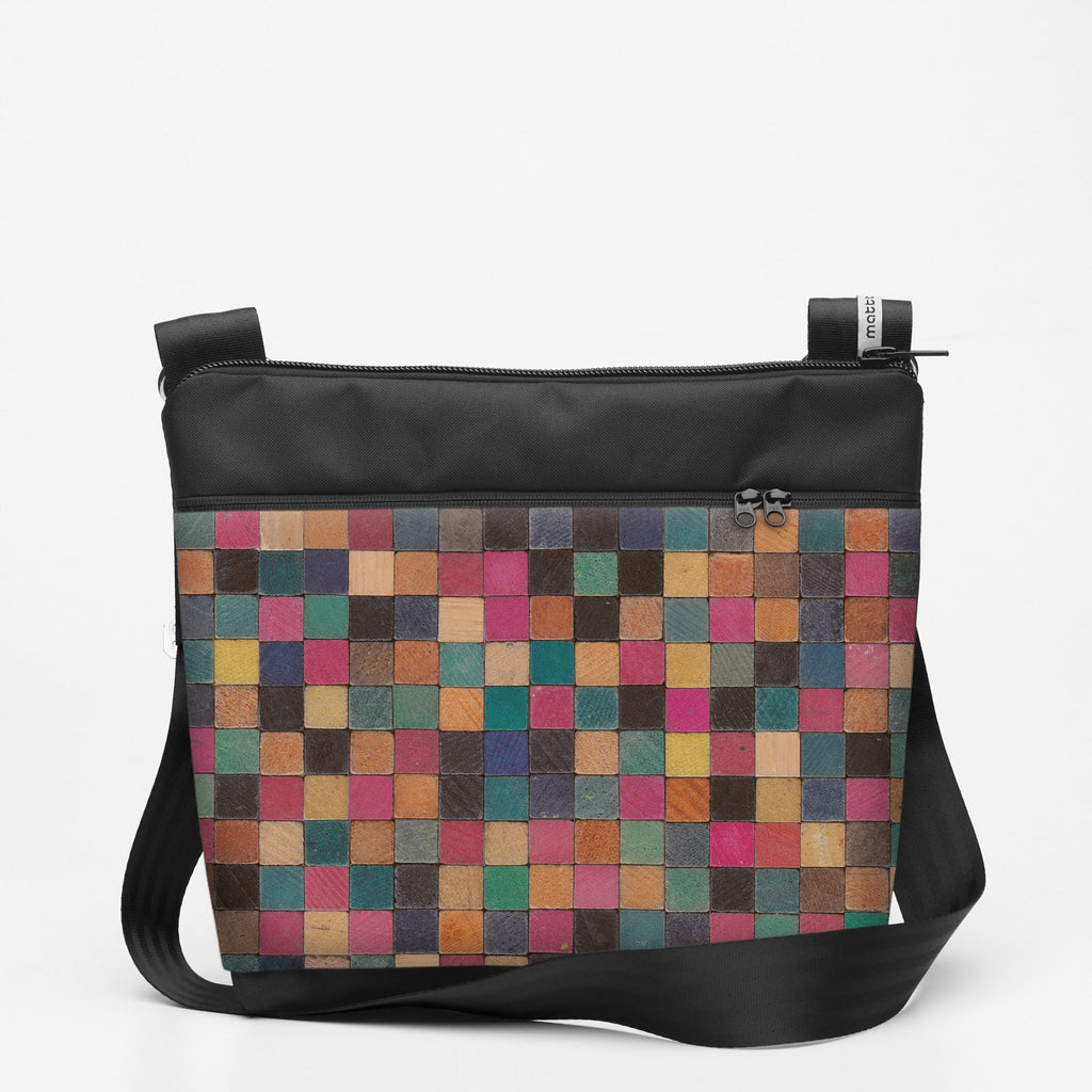 Copy of Travel Shoulderbag with Cuisenaire - Square