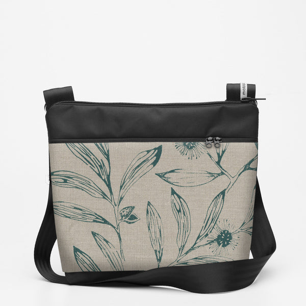 Copy of Travel Shoulderbag with Hakea - Slate