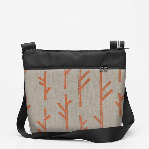 Copy of Travel Shoulderbag with Twig - Copper