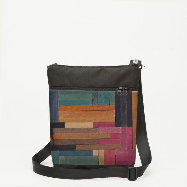 Small Shoulderbag with Cuisenaire - Flat