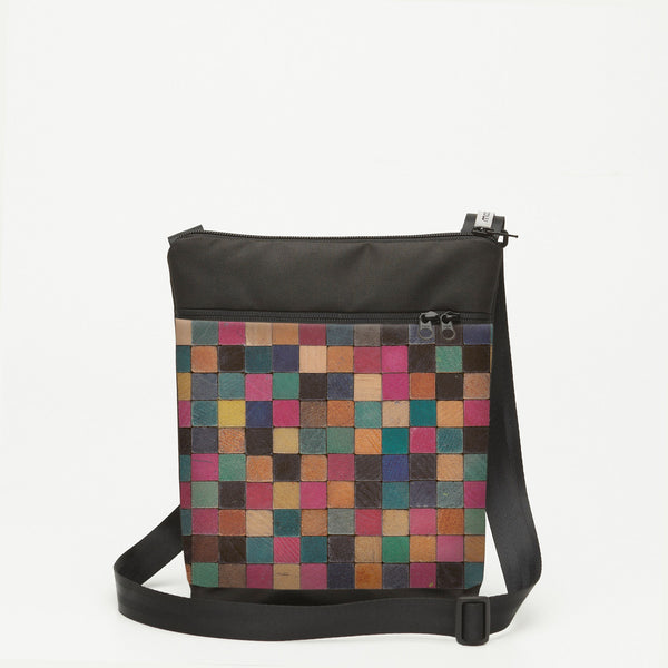 Small Shoulderbag with Cuisenaire - Square