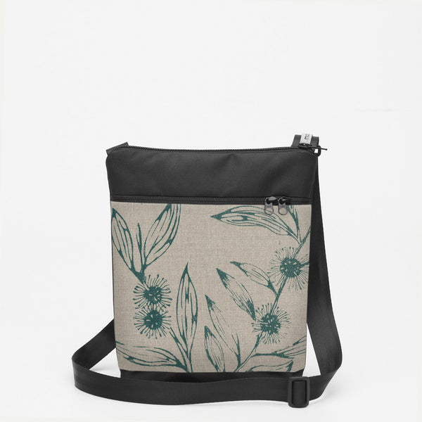 Small Shoulderbag with Hakea - Slate
