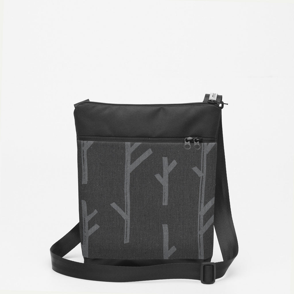Small Shoulderbag with Twig - Grey
