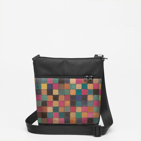 Tiny Shoulderbag with Cuisenaire - Square