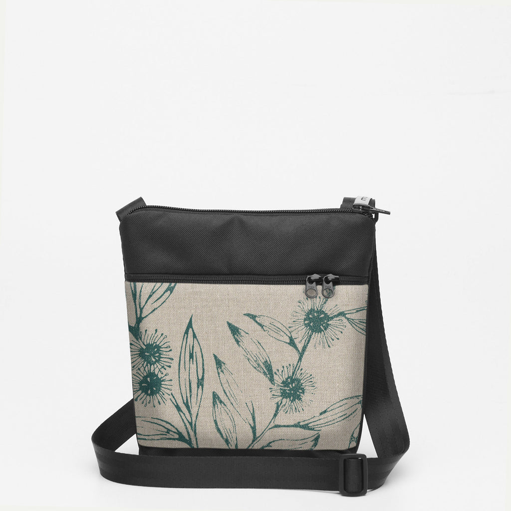 Tiny Shoulderbag with Hakea - Slate