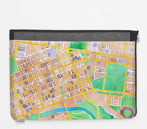 Laptop Folio with Melbourne - Colour