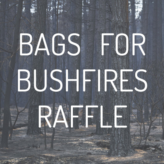 Bags For Bushfires Raffle Tickets