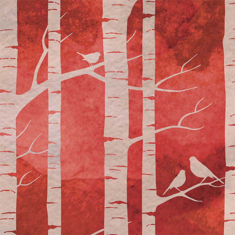 Birch Forest - Ruby