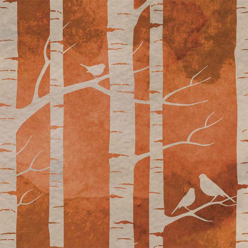 Birch Forest - Ochre