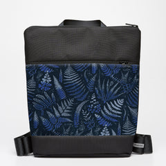 Oversize Backpack with Fern - Indigo