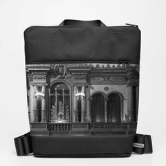 Oversize Backpack with Forum - Greyscale
