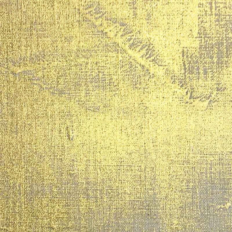 Hand Gilded Canvas - Gold