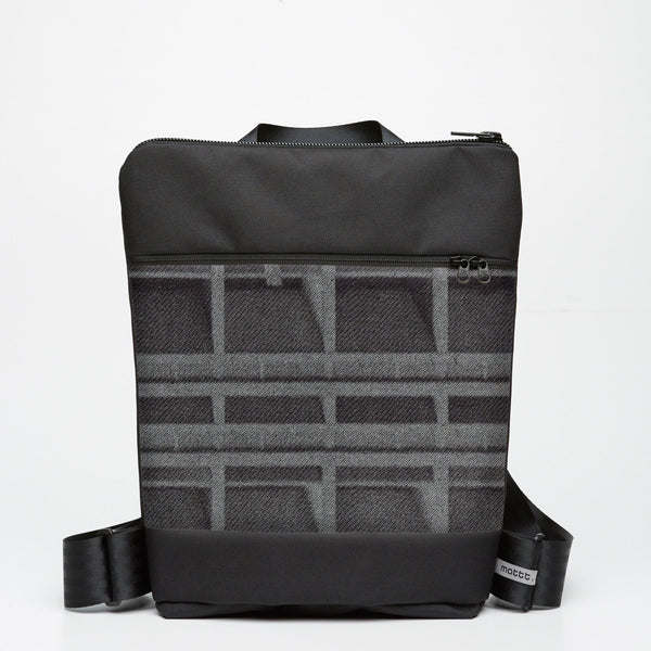 Zipper Backpack with Le Corbusier - Indigo