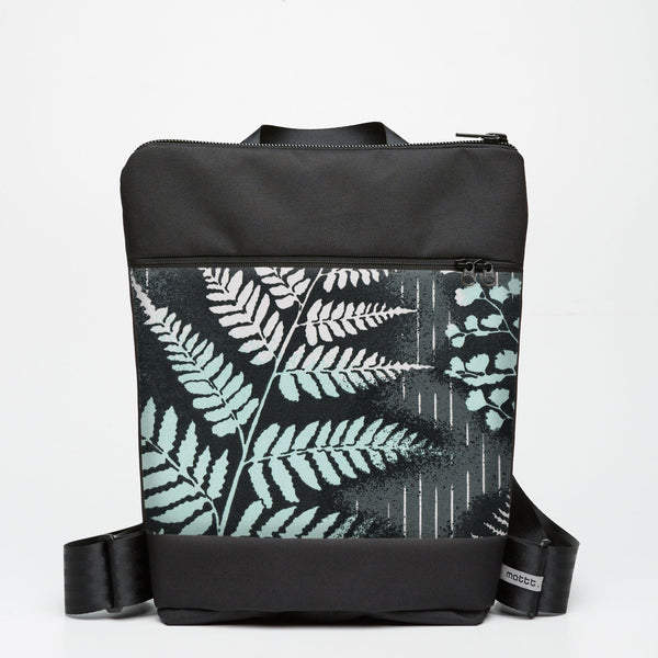 Zipper Backpack with Mountain Fern - Slate