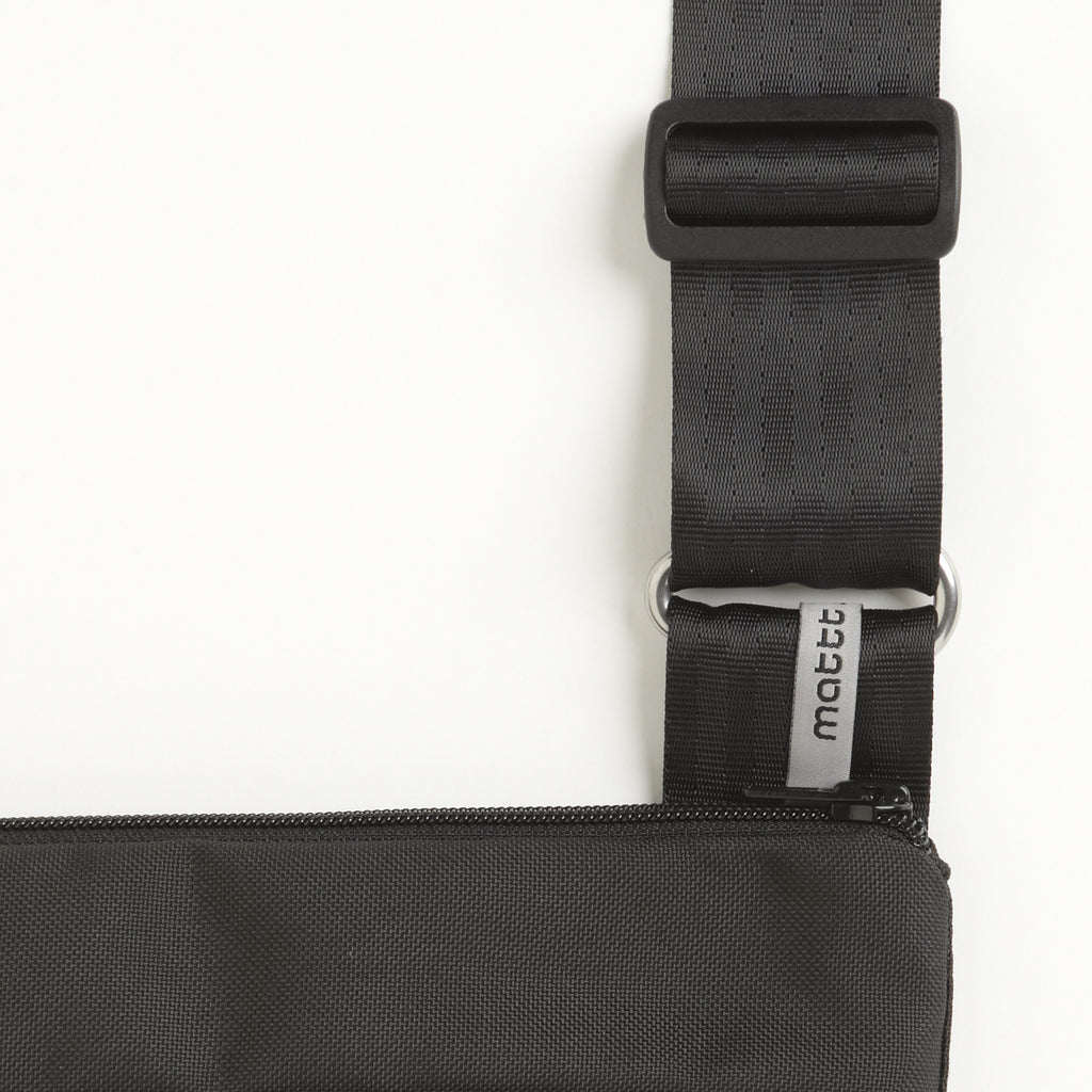 Black Shoulder Strap