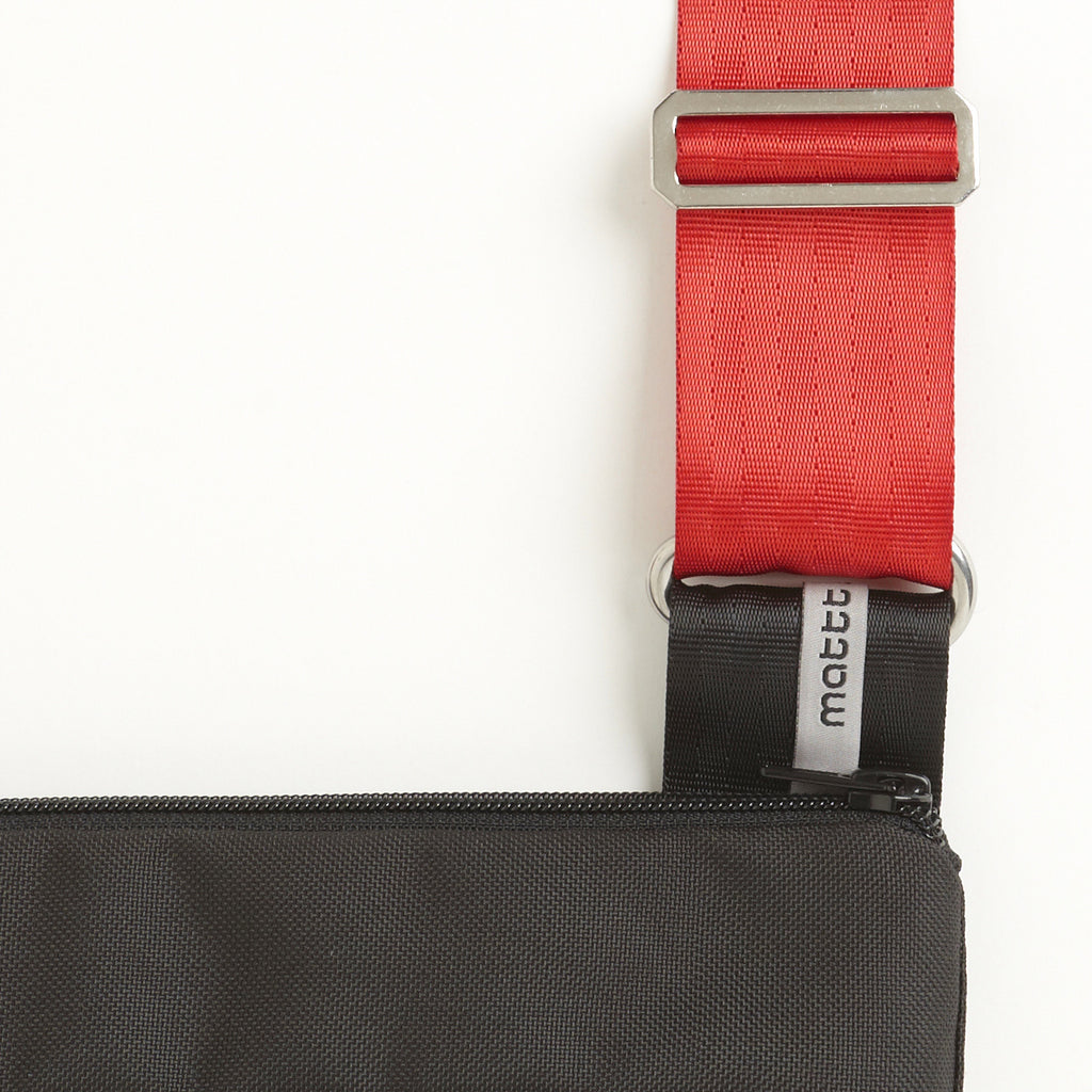 Bright Red Shoulder Strap