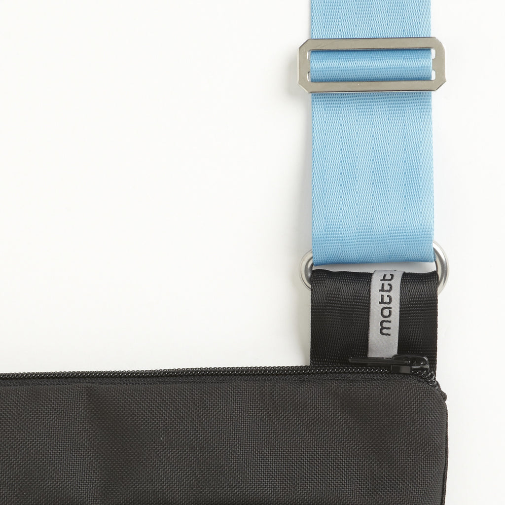 Light Blue Shoulder Strap