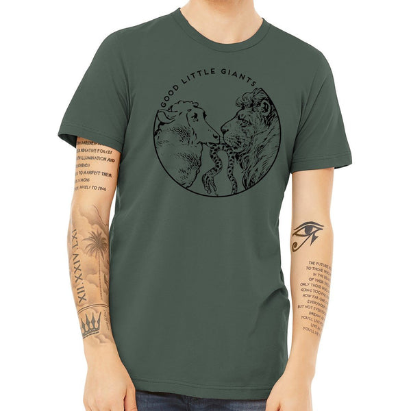 Lion and Lamb (T-Shirt)