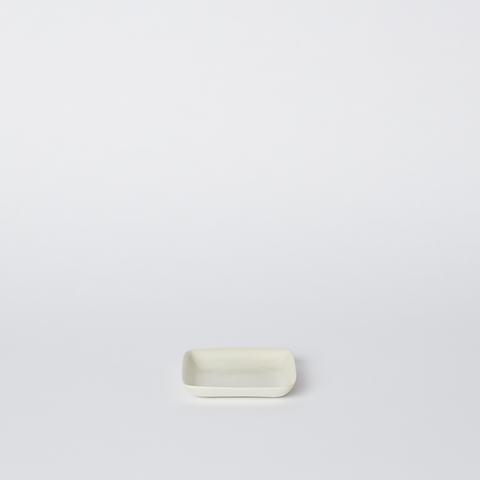 Square Small Platter in Milk