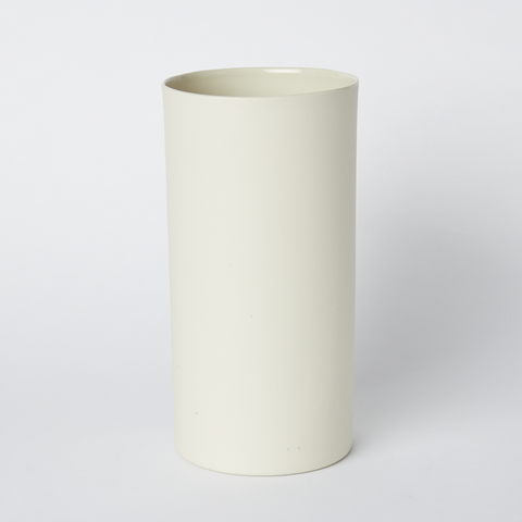 Vase Round Large in Milk