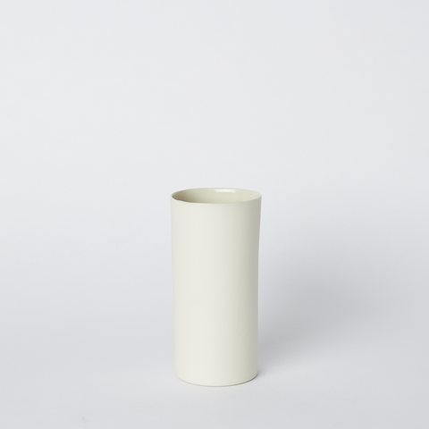 Vase Round Small in Milk