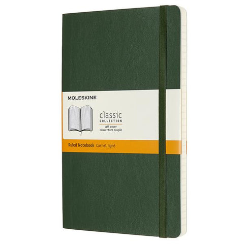 Caderno Soft Verde Mirtilo