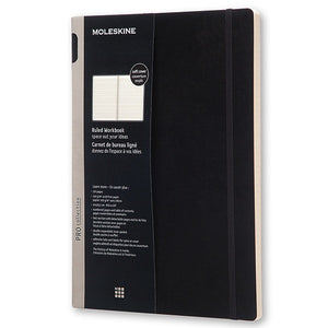 Workbook A4 Soft Pautado - Preto