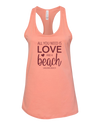 All You Need Is Love Tank Top - Sunset