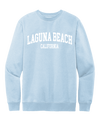 Laguna Beach Unisex Crewneck Sweatshirt - Ice Blue