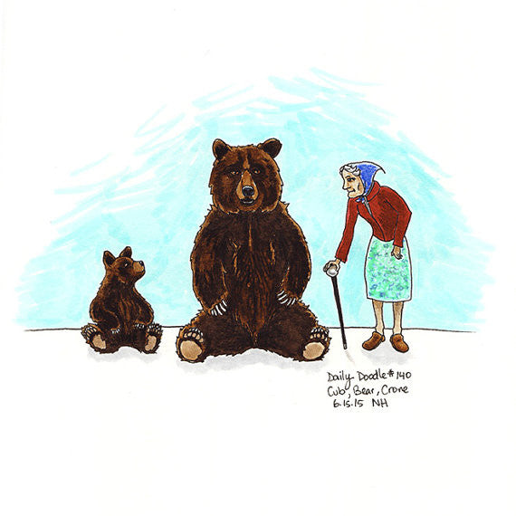 No.140 Cub, Bear, Crone