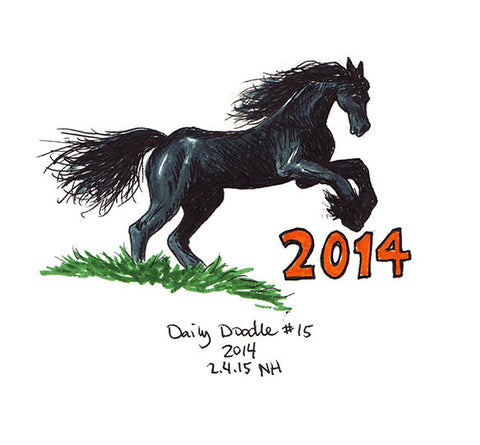 No.015  2014  Year of the Horse