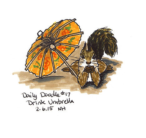 No.017 Drink Umbrella