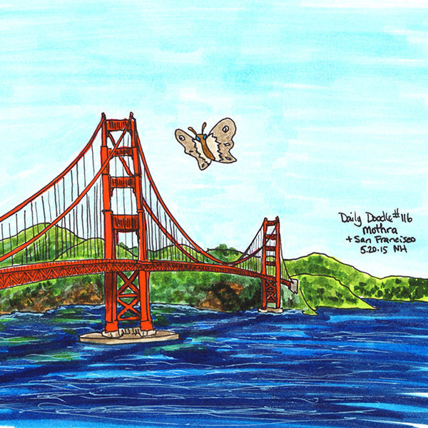 No.116 Mothra + San Francisco