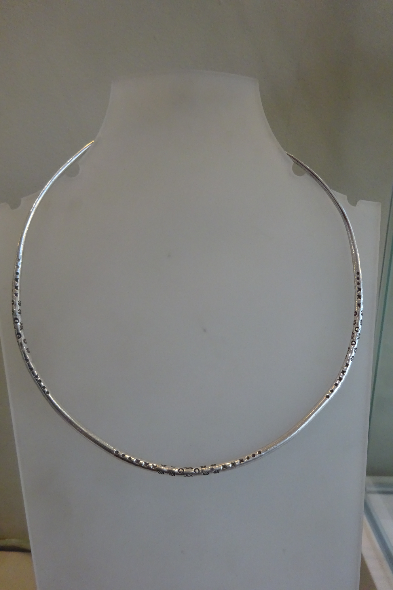 Solid Silver Choker
