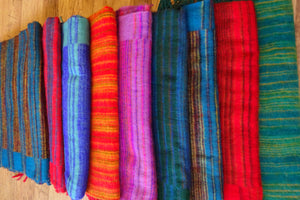 Striped Shawls