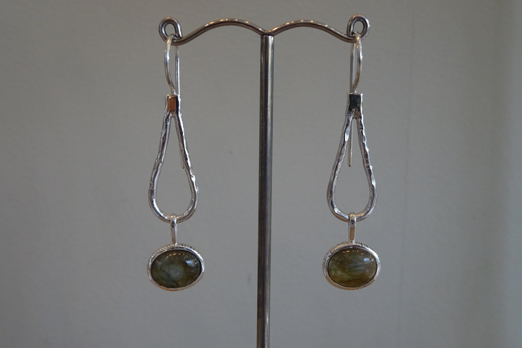 Glamorous Labradorite Earrings