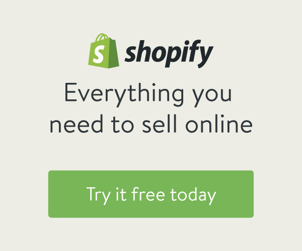 Try Shopify for Free
