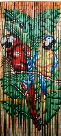 Buddy Parrots Bamboo Beads