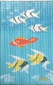 Colorful Fish Bamboo Curtain