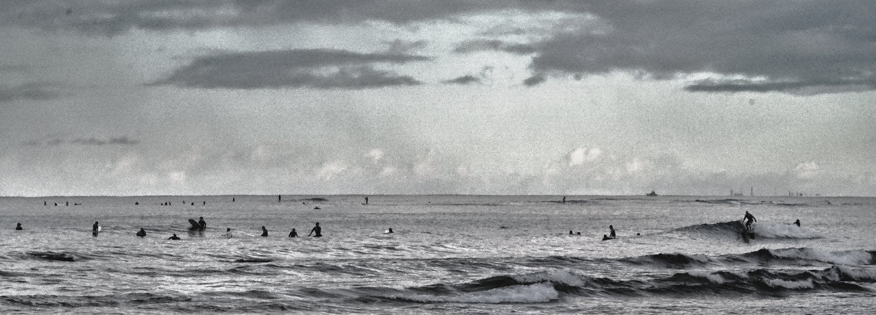 Surfing At Waikiki ©Rudolfoto