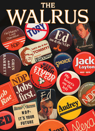 NDP Buttons and Pins <span>by Patrick Fothergill</span>